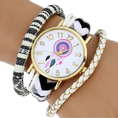 Dream Catcher Watch - White