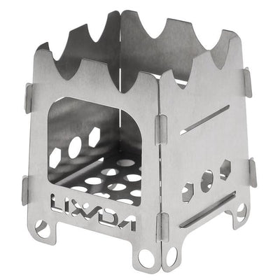 Ultralight Titanium Wood Burner Camping Stove - Default Title
