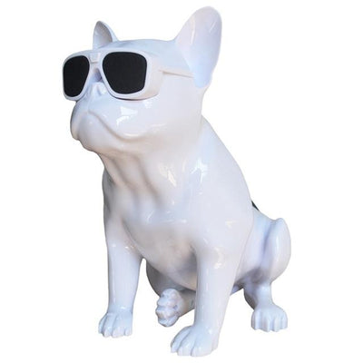 French Bulldog Speaker V2 - White