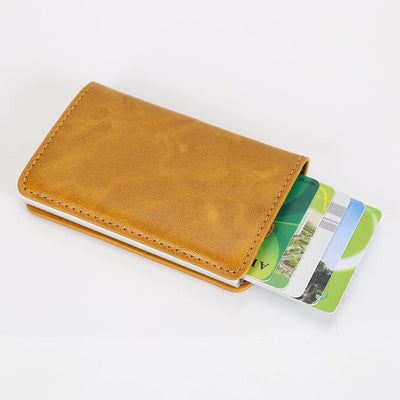 Perfect Card Organizer Wallet - Yello