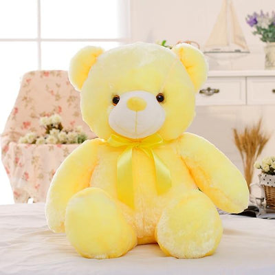 Light Up Teddy Bear - Yellow