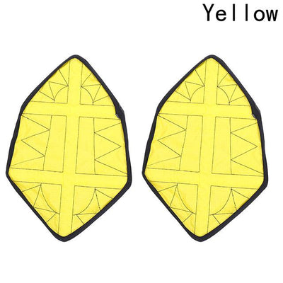 Automatic Step in Shoe Covers - Yellow