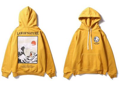 The Law of Nature Hoodie - Yellow / M