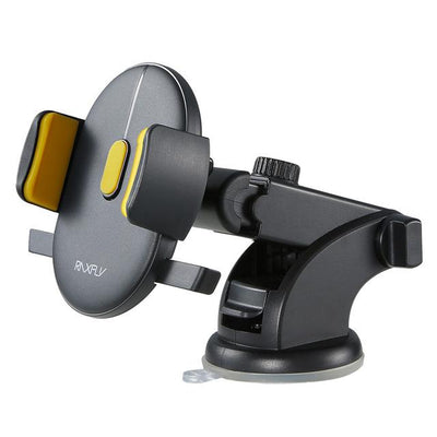 Windshield Mount Car Phone Holder - Yellow
