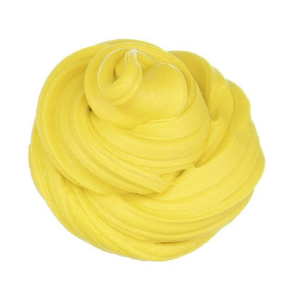 Scented Fluffy Foam Stress Relief - Yellow