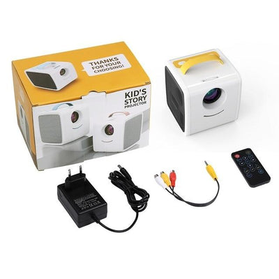 Kids Mini Projector - Yellow