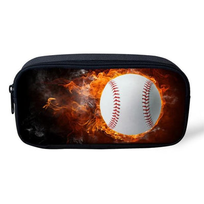 Sports 3D Pencil Case - Fireball