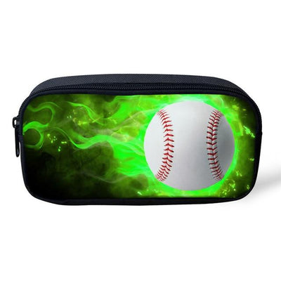 Sports 3D Pencil Case - Greenball