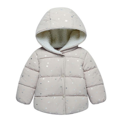 Baby Warm Winter Coat - Gray / 3M