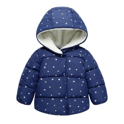Baby Warm Winter Coat - Blue / 3M