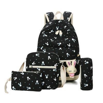 Bunny School Bag Set -