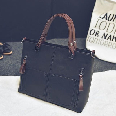Luxury Handbag for Women - black