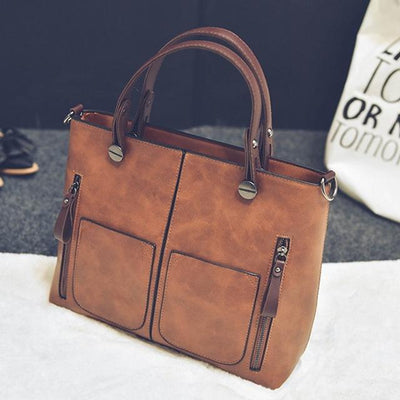 Luxury Handbag for Women - brown