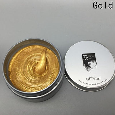 Temporary Color Hair Wax - gold