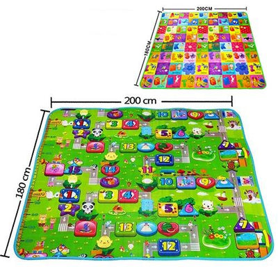 Baby play mat - Monopoly letters / 180cmX120cmX5mm