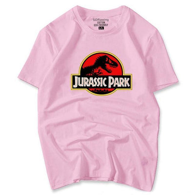 Jurassic Park Tee - pink / S