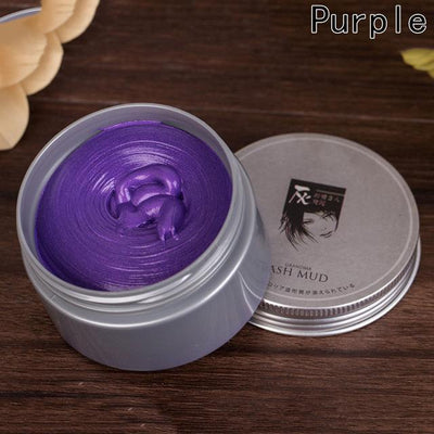 Temporary Color Hair Wax - purple