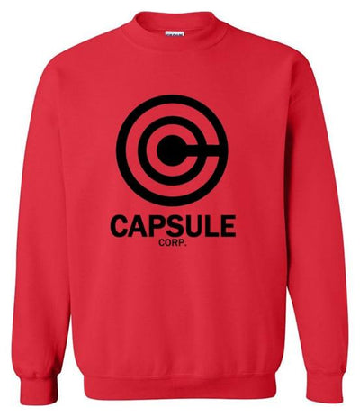 DBZ Capsule Corp. Sweater - red9 / S