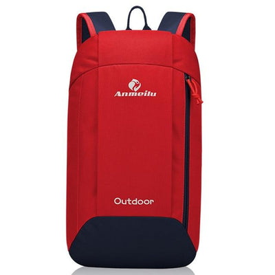 10L travel backpack - Red