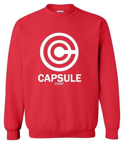 DBZ Capsule Corp. Sweater - red / S