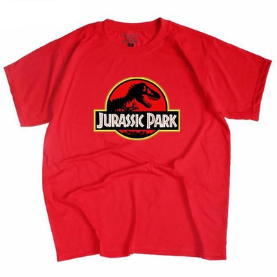 Jurassic Park Tee - red / S