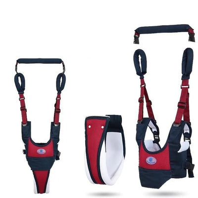 Baby Walker Harness - Red with Blue