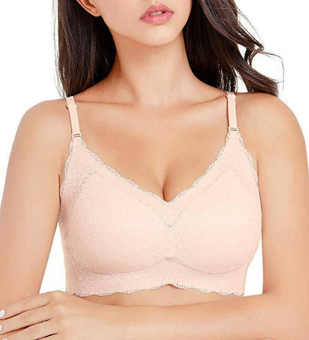 Seamless Wirefree 2-PLY Bra - Black