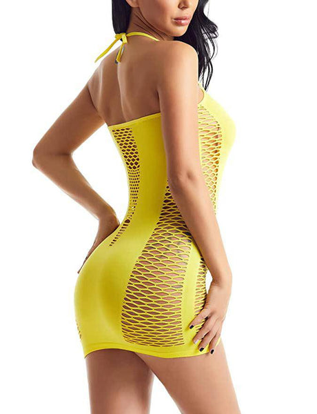 Fishnet Seamless Mesh Bodysuit
