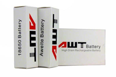 AWT 18650 40A 2600 mAh Battery - 2 Pack - SpaceMonkey Vape