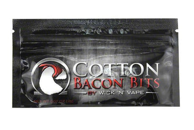 Cotton Bacon Bits - 50 Pack - SpaceMonkey Vape
