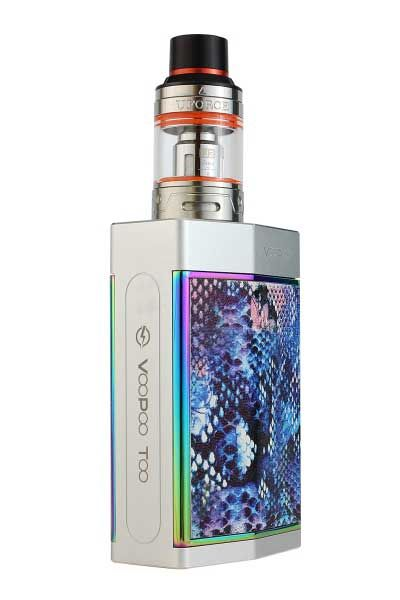 VooPoo Silver Frame TOO 180W TC Kit - SpaceMonkey Vape