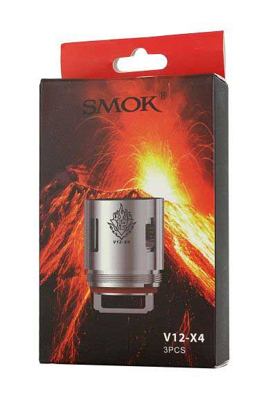 Smok V12-X4 Replacement Coils - 3 Pack - SpaceMonkey Vape