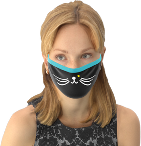 MOONLIT PLANET Two-Layer Washable Fashion Face Mask: CAT