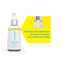 CLEAN MIST: Organic Facial Toner Spray