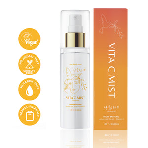 VITA C FACE MIST: Organic Facial Toner Spray