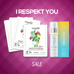 """I Respekt You"" Anytime + Mask Set"