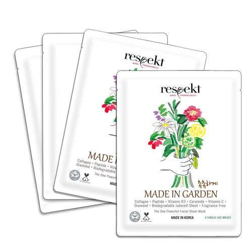 RESPEKT BOX: Organic Sheet Mask