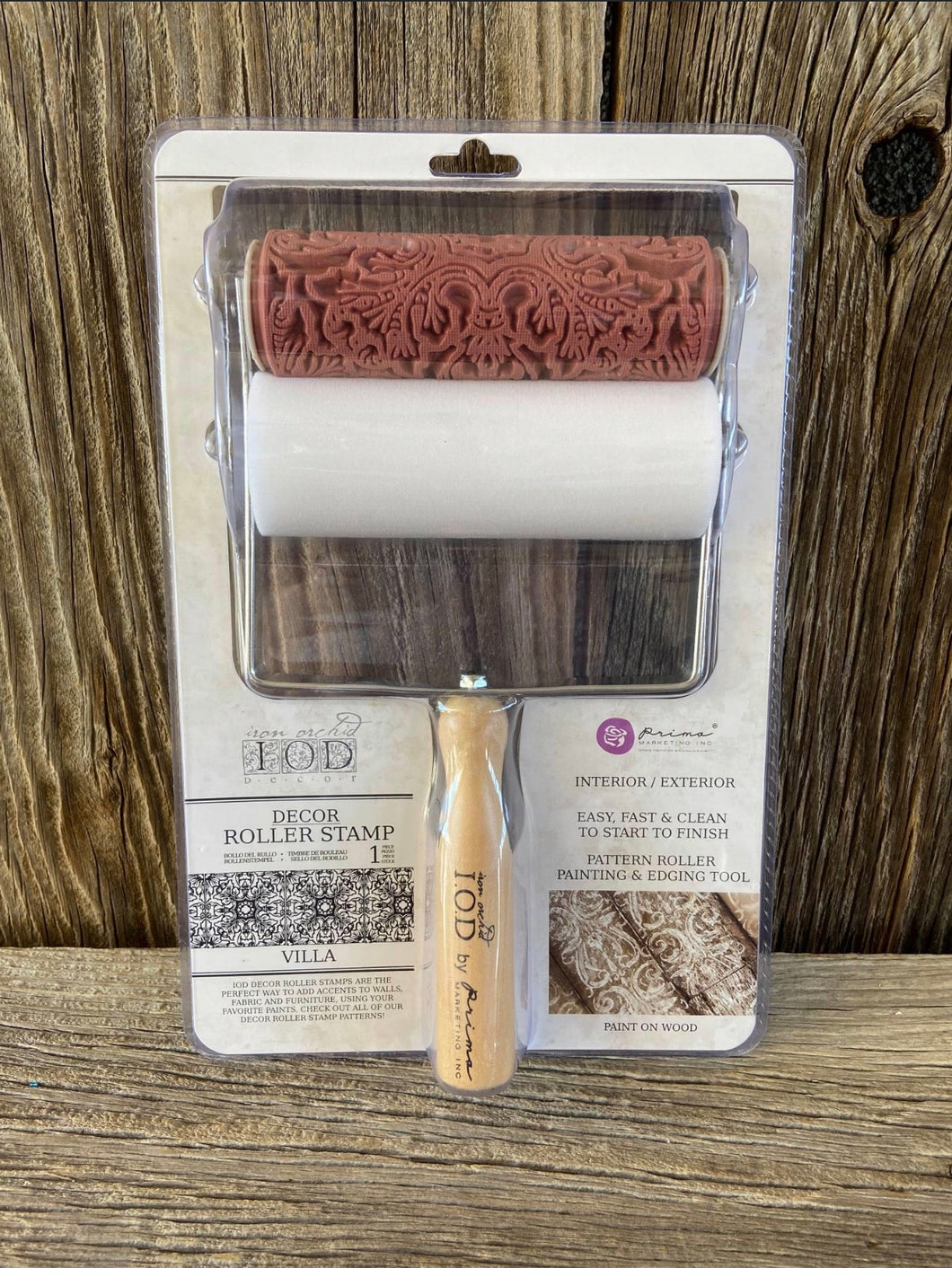 Decor Roller Stamp Villa