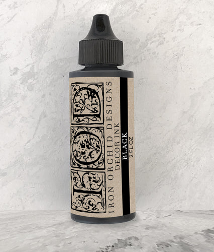 Décor Ink Black 2 oz.