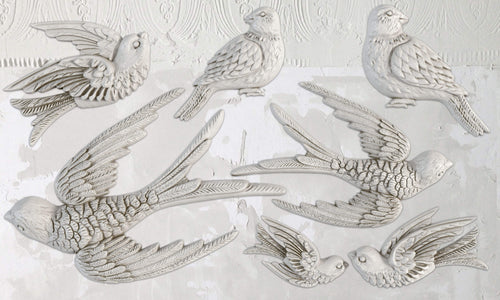 Birdsong Décor Mould 6x10