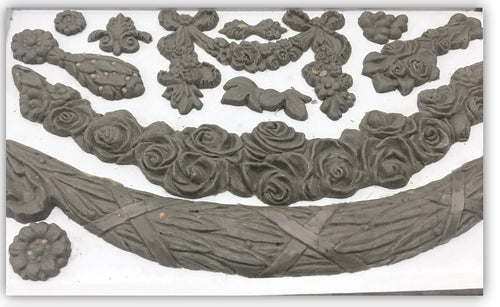 Floral Swags Décor Mould