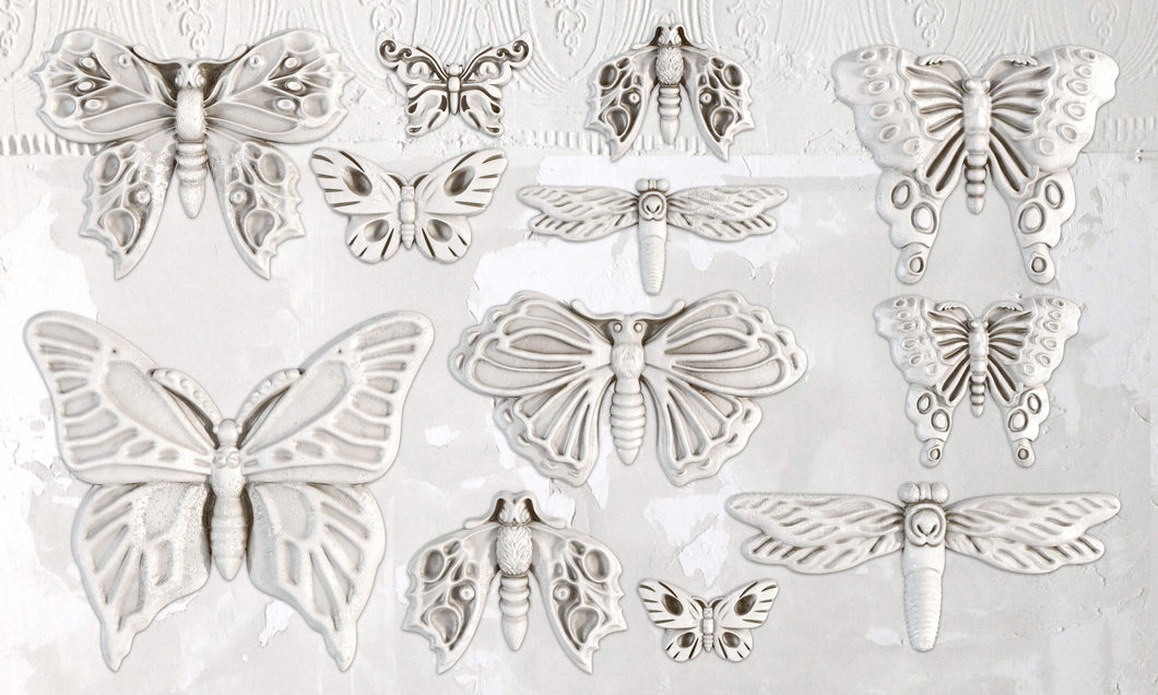 Monarch Butterfly Décor Mould 6x10