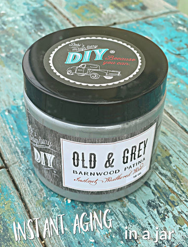 Old & Grey Barnwood DIY Liquid Patina
