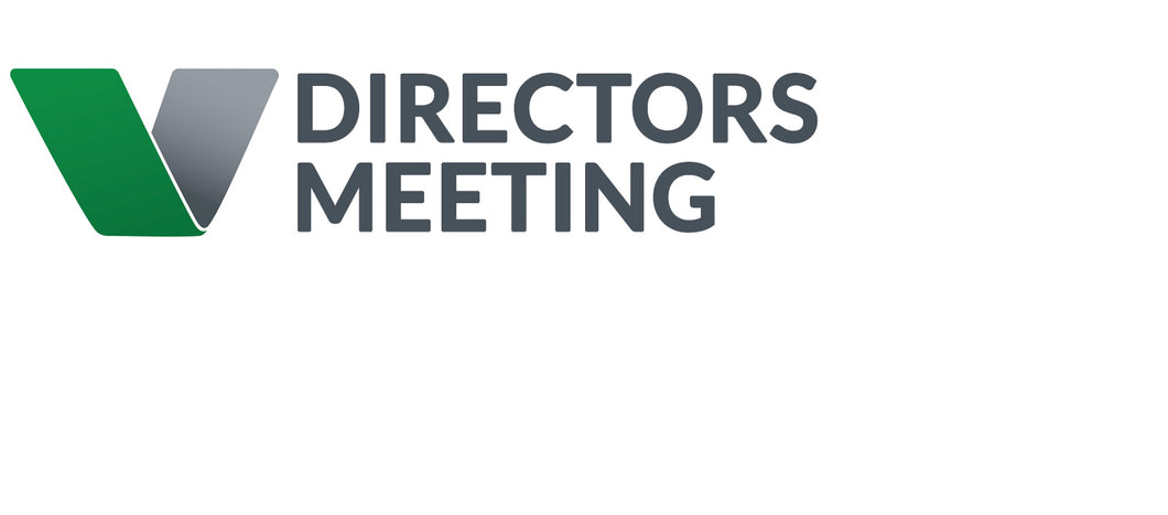 9 April Directors Meeting - For Directors Only