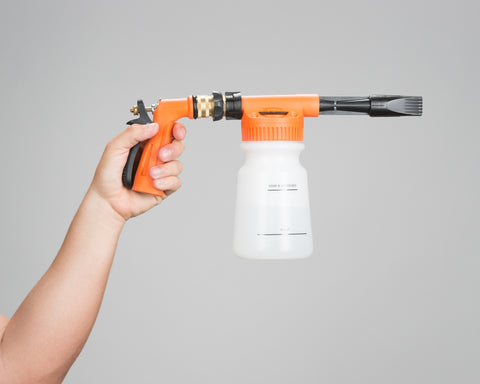Garden Hose Foam Cannon w/ Quick Release Handle