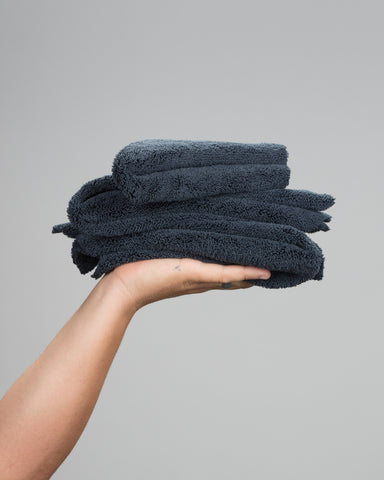 Black Edgeless MF Towel