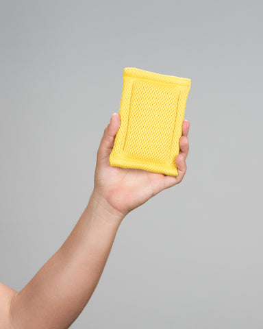 Yellow Interior / Exterior Scrubbers