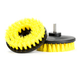 Drill Brush - Power Cleaning Carpets and Upholstery