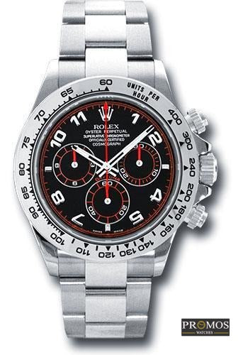 Daytona 24 Silver Style & Red-Black Dial -Automatic Movement Watches