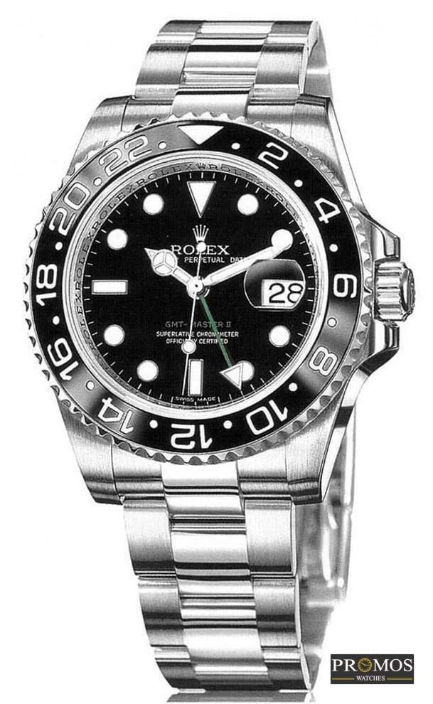 Gmt-Master Ii Silver Style & Black Dial -Automatic Movement Watches